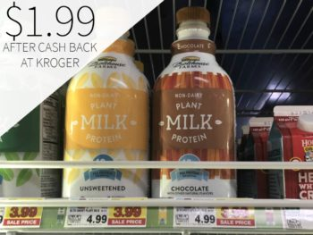 Bolthouse Farms Plant Protein Milk Just $1.99 At Kroger