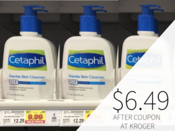 graphic regarding Cetaphil Coupons Printable referred to as cetaphil coupon I Middle Kroger