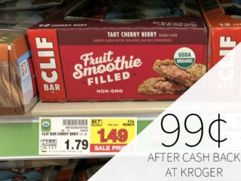Clif Bars As Low As 99¢ At Kroger
