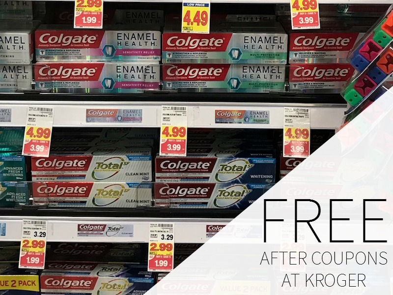 Colgate Toothpaste FREE During The Kroger Mega Sale