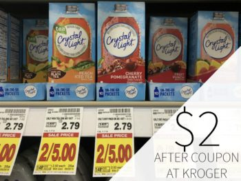 Crystal Light On The Go Just $2 Each At Kroger
