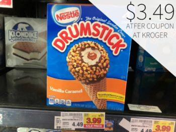 Nestle Drumstick Just $3.49 At Kroger