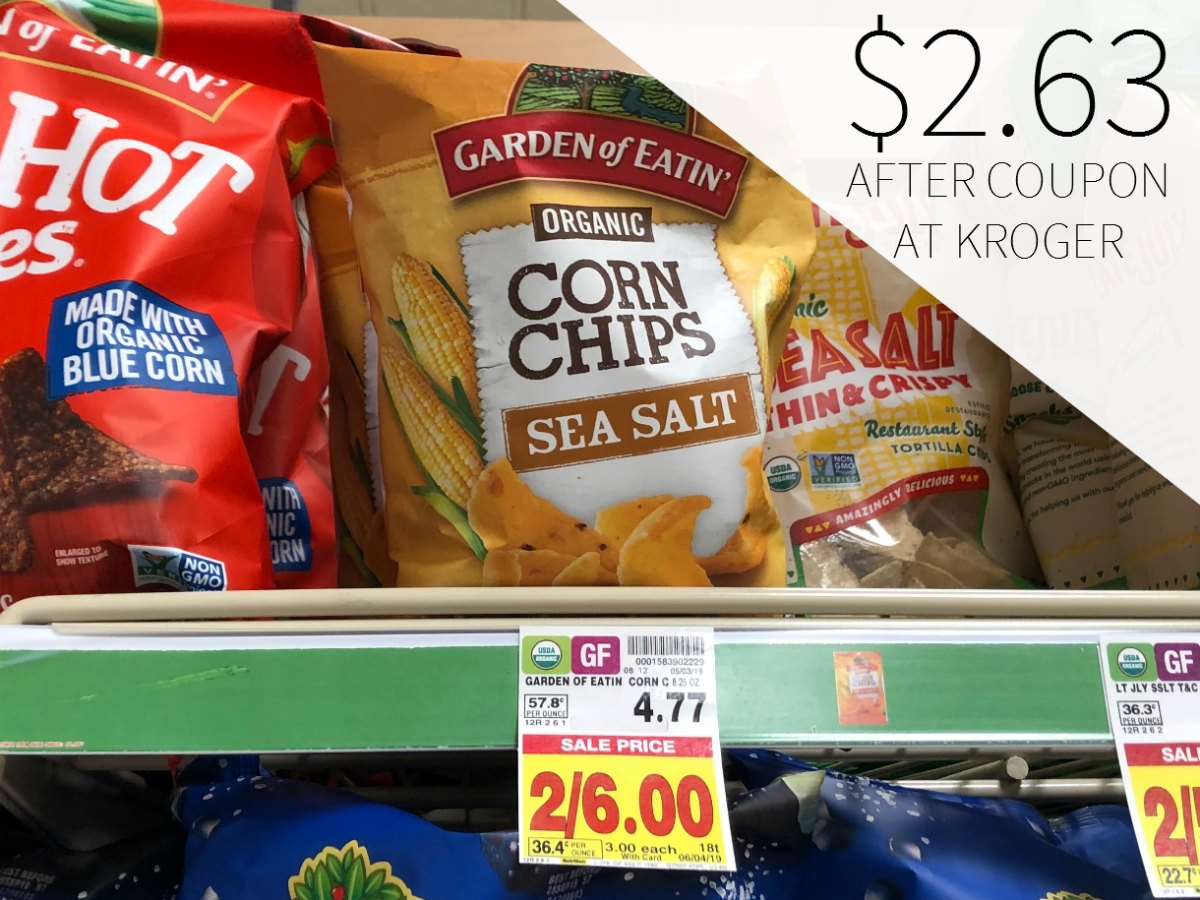 Garden Of Eatin Organic Corn Chips Just $2.63 At Kroger