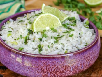 Five Minute Cilantro Lime Rice For Your Cinco de Mayo Festivities