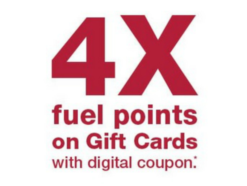 4x Kroger Fuel Points When You Buy Gift Cards (Coupons Valid Through 5/27)