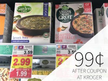Garden Lites Frozen Meals Just 99¢ During The Kroger Mega Sale