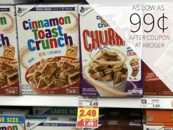 New General Mills Cereal Printable Coupon - As Low As 99¢ During The Kroger Mega Sale