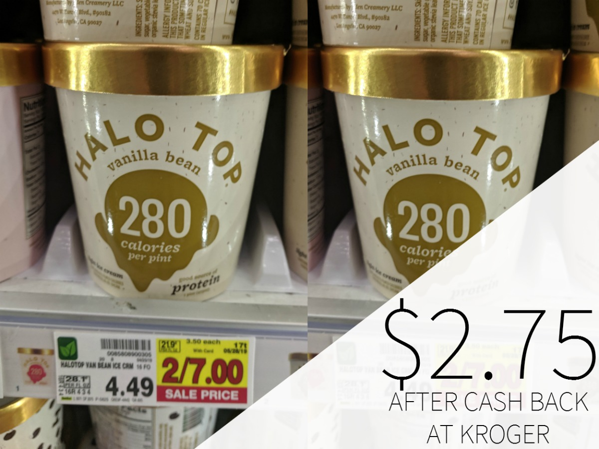 halo top sweepstakes halo top ice cream just 2 75 per pint at kroger 4981