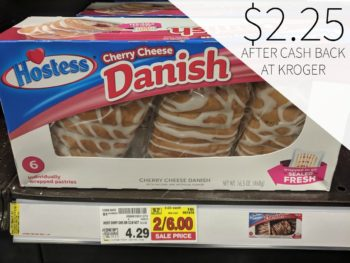 Hostess Danish or Cinnamon Rolls Just $2.25 At Kroger