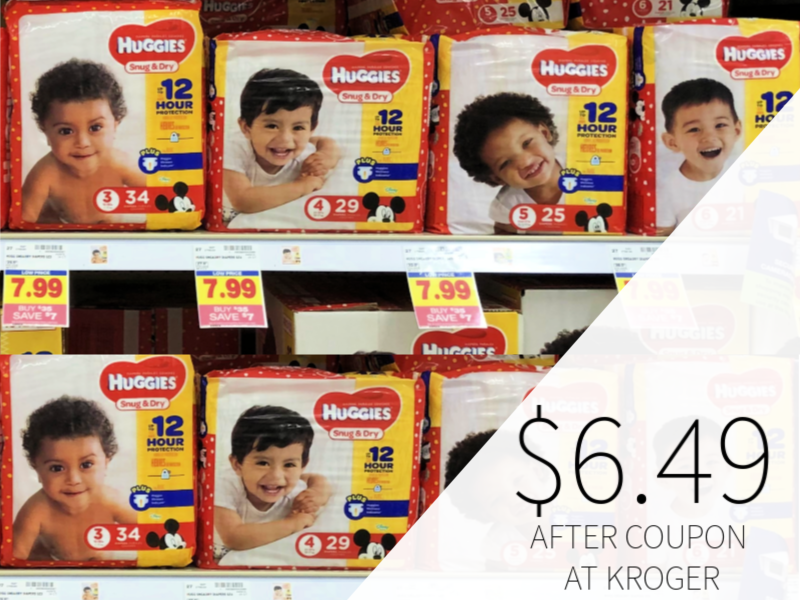 Huggies Diapers Only $