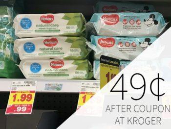 Huggies Wipes Just 49¢ During The Kroger Mega Sale