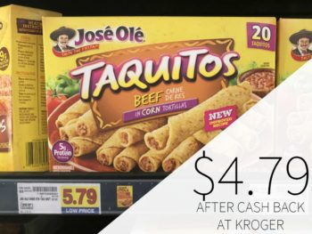 Jose Ole Taquitos Just $4.79 At Kroger
