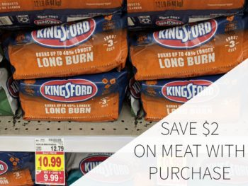 Save $2 On Meat When You Buy Kingsford Charcoal