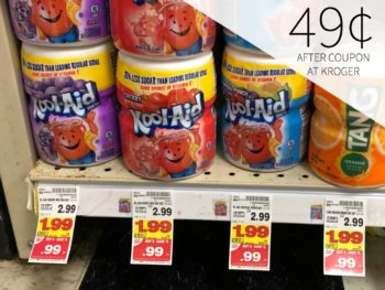 Kool-Aid, Country Time or Tang - Just 49¢ During The Kroger Mega Sale 1