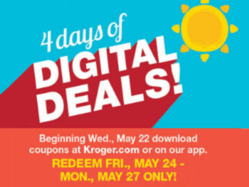 Load Your Coupons For The 4 Days Of Digital Deals 3