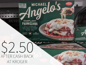 Michael Angelo's Frozen Meals Just $2.50 Each At Kroger