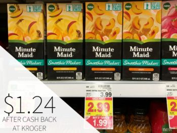 Minute Maid Smoothie Makers Just $1.24 During The Kroger Mega Sale