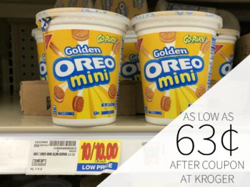 Nabisco Go-Paks As Low As 63¢ Each At Kroger