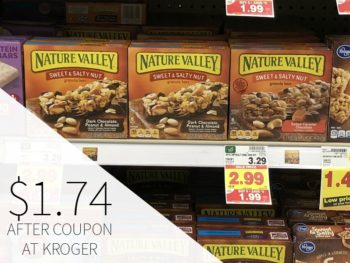 Nature Valley Granola Bars As Low As $1.74 During The Kroger Mega Sale