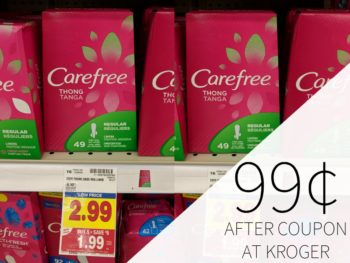New Feminine Care Products Coupons