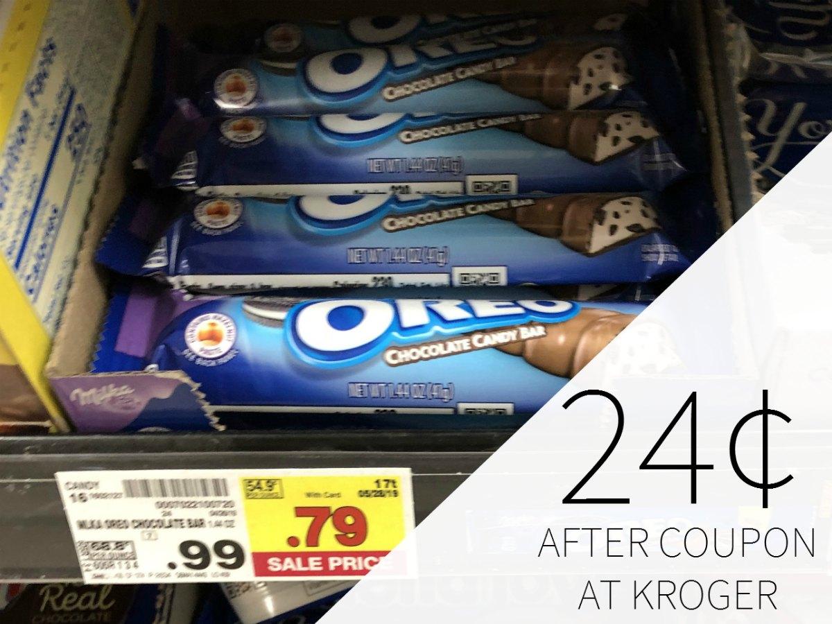 Oreo Candy Bar Just 24¢ At Kroger