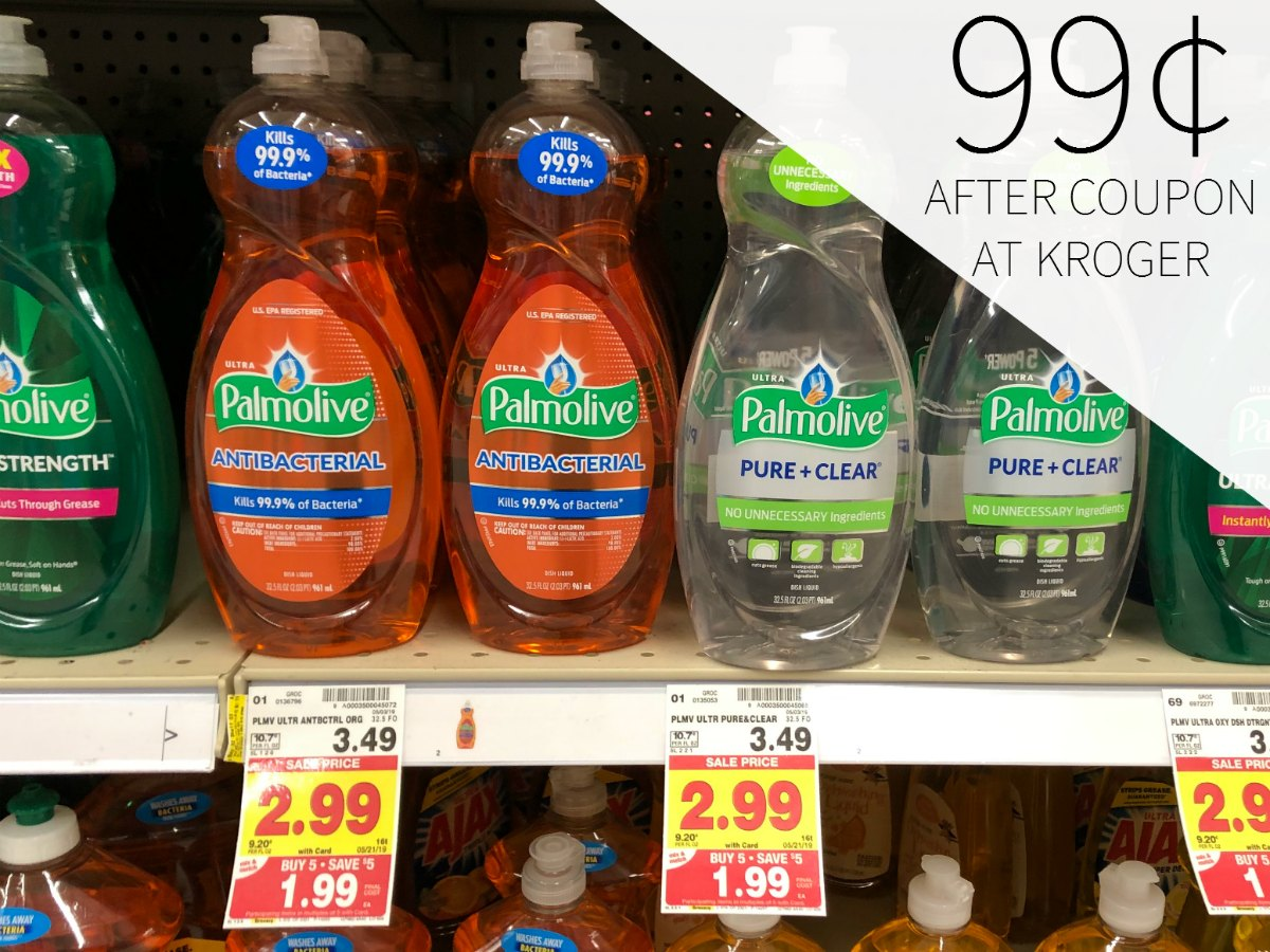 Palmolive Only 99¢ During The Kroger