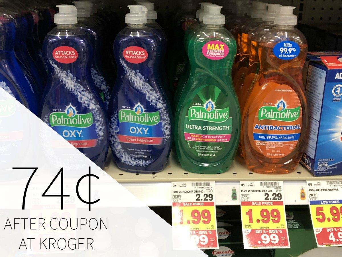 Palmolive Dish Detergent Just 74¢ During The Kroger Mega Sale