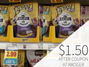 Purina Beggin' Dog Treats As Low As $1.50 Each At Kroger