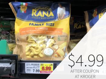 Rana Family Size Pasta Only $4.99 At Kroger