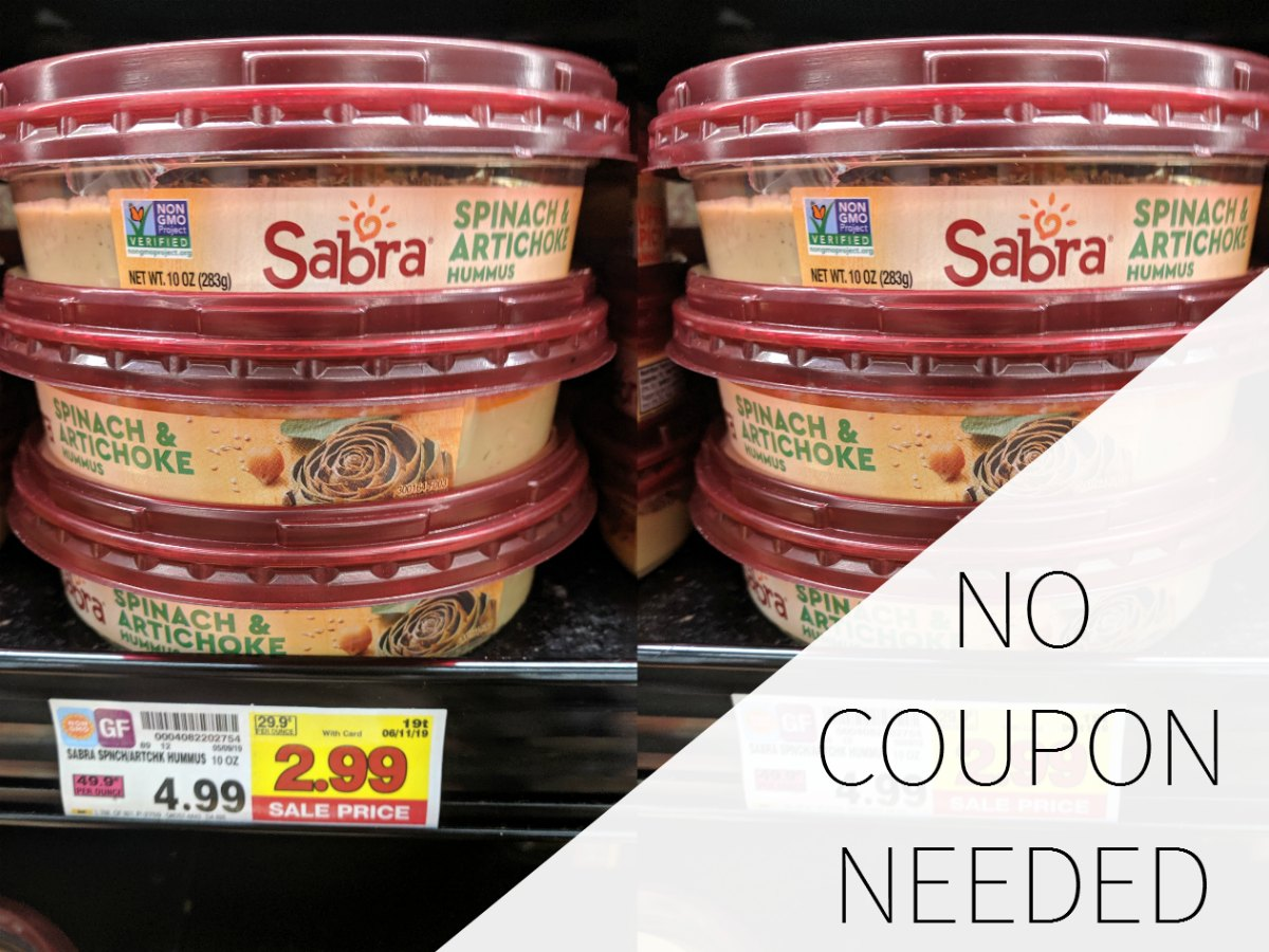 Sabra Hummus Just $2.99 At Kroger