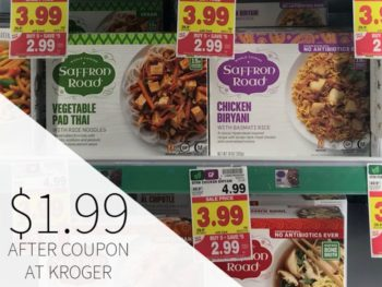 Saffron Road Frozen Meals Just $1.99 During The Kroger Mega Sale