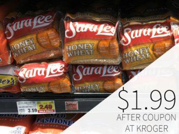 Sara Lee Bread Just $1.99 Each At Kroger
