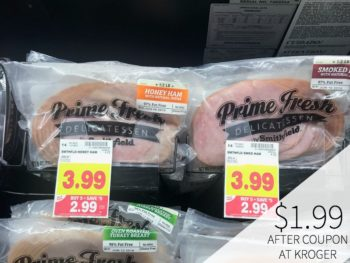 Smithfield Prime Fresh Lunch Meat Just $1.99 During The Kroger Mega Sale