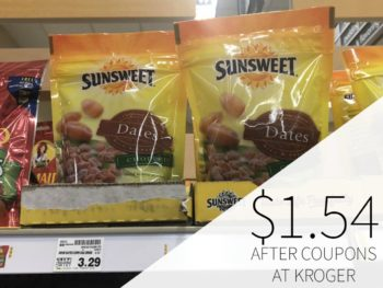 Sunsweet Dates Just $1.54 At Kroger
