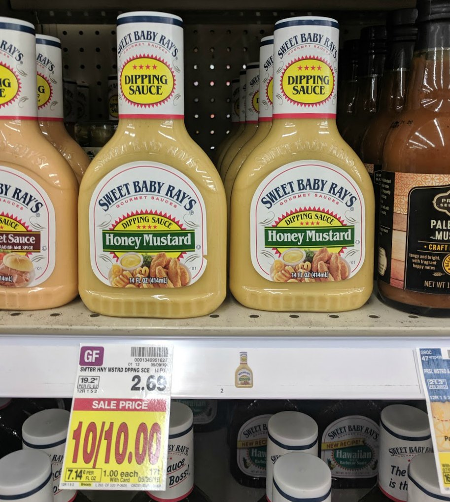 Sweet Baby Ray's Dipping Sauce Just 50¢ Each At Kroger 1