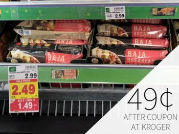 Sweet Earth Burritos Just 49¢ During The Kroger Mega Sale 1