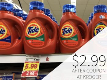 Tide Detergent And Pods Only $2.99 During The Kroger Mega Sale 1