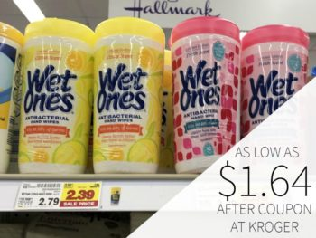 Wet Ones Wipes As Low As $1.64 At Kroger