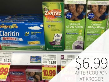New Zyrtec Coupons – Children's Allergy Meds As Low As $6.99 At Kroger