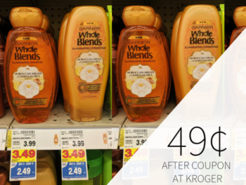 Garnier Whole Blends Hair Care Only 49¢ At Kroger