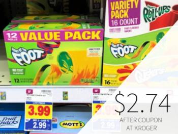 General Mills Value Pack Fruit Snacks Only $2.74 At Kroger