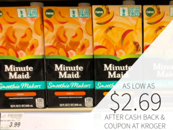 Minute Maid Smoothie Makers As Low As $2.69 At Kroger