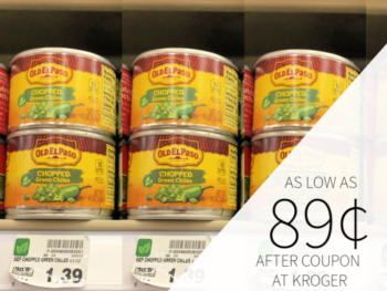 New Old El Paso Coupon - As Low As 89¢ At Kroger