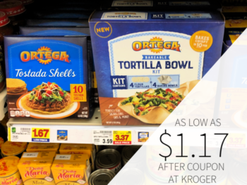 Ortega Tostada Shells Only $1.17 At Kroger