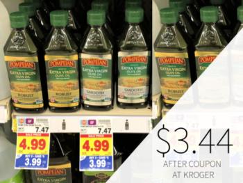 Pompeian Olive Oil Only $3.44 At Kroger