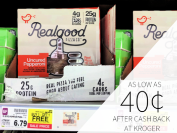 Real Good Products As Low As 40¢ At Kroger