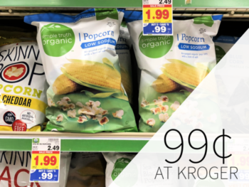 Simple Truth Snacks Only 99¢ At Kroger