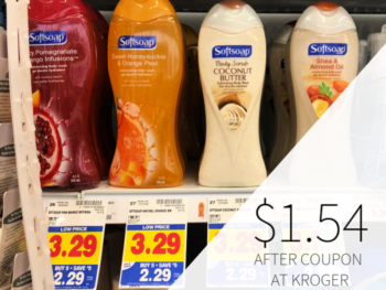 Softsoap Body Wash Only $1.54 At Kroger