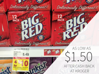 Big Red 12 Packs As Low As $1.50 At Kroger 1