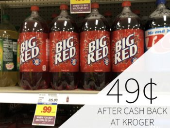 Big Red Soda Just 49¢ Per Bottle At Kroger